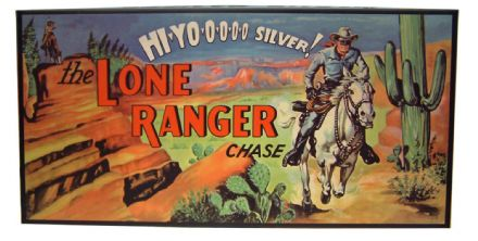 The Lone Ranger Chase - Retro Family Board Game